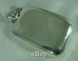Victorian Silver Hip Flask John Edward Wilmot Birmingham 1899 182g A602017