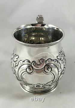 Victorian Silver Mug IB London 1804 107g FZXR