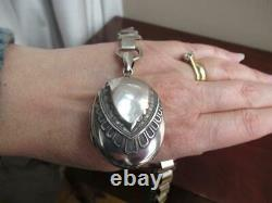Victorian Silver Plated Collar Necklace & Solid Silver locket