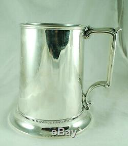 Victorian Silver Quart Mug Elkington Birmingham 1868 Lincolnshire Regiment 438g