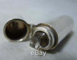Victorian Silver Scent Bottle M & Co Birmingham 1884 A641917