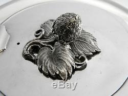 Victorian Silver Tea / Coffee Set London 1878 (teapot, Coffee Pot, Sugar, Cream)