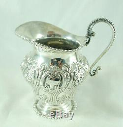 Victorian Silver Tea Set Walter Sissons London 1900 1284g FCEZX