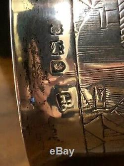 Victorian Solid SILVER Beaker / Cup C. 1896 London Hallmark Unknown Maker