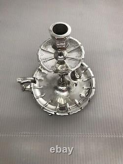Victorian Solid Silver Chamberstick Candelstick Samuel Whitford Dated 1847