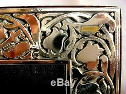 XLarge Superb Finest 999 Quality Hallmarked Silver London Britannia Photo Frame