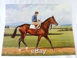 1880 Sterling Silver Irish Horse Racing Trophy. Irish Champion Jockey Liam Ward