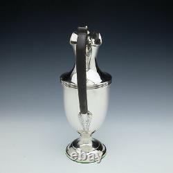 A Victorian Sterling Silver Claret Jug London 1896