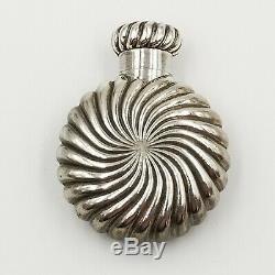 Antique Sampson Mordan Sterling Silver Parfum Bouteille Cachette Parfum Flask