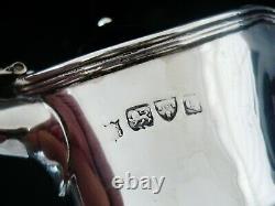 Antique Silver Claret Jug Ou Vin Aiguière, Chester 1899, Nathan & Hayes
