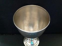 Antique Victorian Argent Goblet / Calice 1892