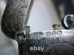 Antique Victorian Lighter Sterling Argent Birmingham 1894