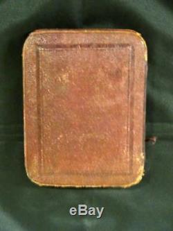 Antique Victorian Silver Card Case, Birmingham, Hilliard & Thomason, Vers 1868