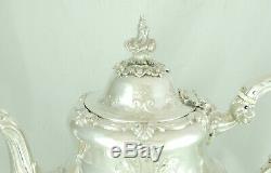 Argent De L'époque Victorienne Teapot D & C Houle London 1853 855g Ezx