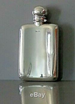 Argent Massif Antique Flasque. Deakin Et Francis