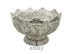 Argent Rose Sterling Antique Victorian Bowl 1896