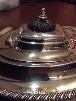 Argent Victorienne Sterling Batchelors Teapot Chester Hallmark 1897 Environ 452g