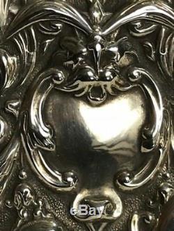 Boîte À Allumettes Antique En Argent Massif Par William Comyns & Son London