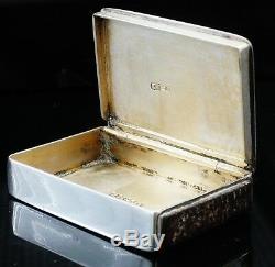 Boîte À Tabac À Priser En Argent Et Émail Étui Vesta, Birmingham 1890, Howard James