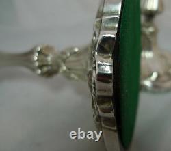 Bougies Victoriennes D'argent T Bradbury Sheffield 1843 26cm A602017