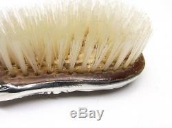 Brosse À Cheveux De Miroir À La Main, Époque Victorienne, Antique Gorham, Argenté No 23
