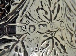 Carré Antique Silver Claret Londres 1887 David & Lionel Spires Superb