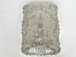 Château D'argent Victorienne Top Card Case Scott Memorial Nathaniel Mills 1844