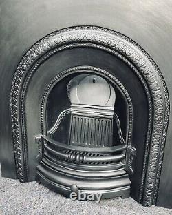 Cheminée En Fonte / Fire Surround / Insert / Style Victorien / Combustible Solide / Gaz