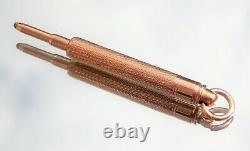 Crayon De Propulseur À Propulseur En Or 9ct Victorien
