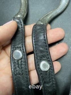 Cuir Noir Sterling Silver Elsa Peretti Tiffany & Co. Wrap Around Belt 46