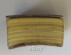 Dictionnaire Miniature Miniature Miniature En Argent Massif Victorien Alfred Wigley 1897