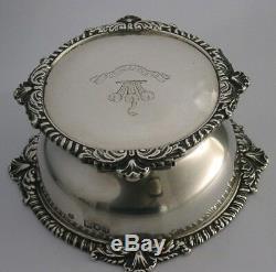Encre Bijou De Pêche À Graisses D'argent Solide 1899 550g Antique Anglais Très Intéressant