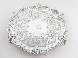 Fantastique Qualité Ancienne Victorienne En Argent Massif Solid Sterling 1854 535 G