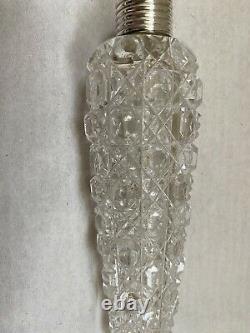 Flacon De Parfum En Verre Taille Supérieure En Argent De Lay Down H/m Londres