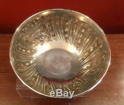 Fruit Bowl En Argent Massif Par Charles Edwards Poinçonnés Londres 1901