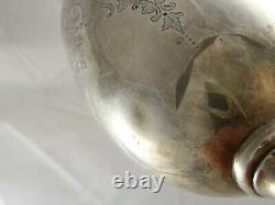 Grande Antique Victorian Solid Sterling Silver Wine Goblet Chalice Cup 1891 344 G