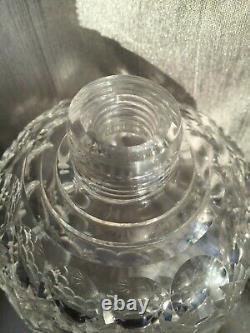 Grande Bouteille De Parfum De Parfum Antique Silver Top En Argent De Grande Taille