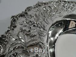 Kirk Bowl 179a Traditionnel Baltimore Repousse Américain Sterling Silver