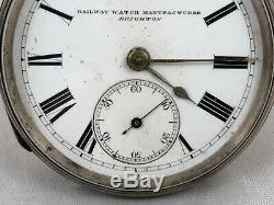 M. Grinberg Fusee Railway Fabricant De Montres De Poche Brighton London 1880