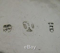 Nouveaute Rare Argent Massif Table Box C1900 Antique Hanau Verseuse