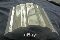 Ornement Décoratif Locking Victorienne Antique Silver Tea Caddy 1894 John Wilmot