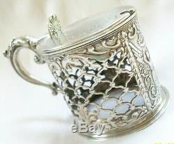 Prix agricole De Superbe Pot De Moutarde En Argent Sterling D'époque Victorienne Antique