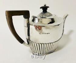 Qualité Antique Victorienne En Argent Massif Teapot Tea Pot 1889