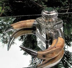 Qualité Impressionnante Victorian Hukin & Heath Encre En Corne Argent Massif Et Encre