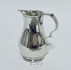 Quality Antique Victorian Solid Sterling Silver Milk Or Cream Jug 1899
