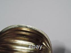 Râpe Antique De Noix De Muscade Argent Sterling Américain