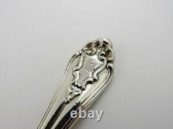 Rare 54 Pce Marlborough Silver Canteen De Cutlery, Londres 1854 Lias Flatware Set