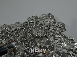 Redlich Bowl 3750 Antique Sert Du Pain Plateau Américain En Argent Sterling