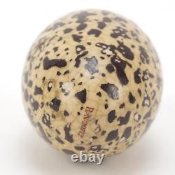 Sampson Mordan Bird's Egg Scent Bottle Victorian 1865 Silver Collar Magpie