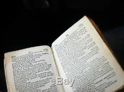 Sampson Mordan Combinaison D'argent Bookmark Dictionnaire & Loupes 1894